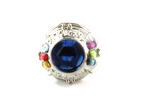 Cheap 2014 New Latest Style Anime Hitman Reborn Cosplay Vongola Ozora Finger Ring With Blue Crystal W box Free Shipping Hot Sale