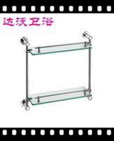 Wholesale Davao Wenzhou zinc alloy with stainless steel fence floor glass shelf factory direct welcome