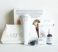 Wholesale Newest LightStim for Wrinkles Ance Face And Skin Care Massager Vibration LightStim Plus Device free Collagen Peptide Serum DHL free