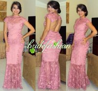 nylon chiffon - new fashion selena gomez colorful pink vestidos sexy long lace party prom evening gown Celebrity Dresses