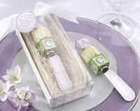 baby blocks cake - New Baby on the Block Alphabet Block Spreader wedding baby shower favor birthday party gifts