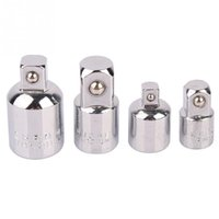 Wholesale 4pcs Socket Adapter Reducers Adapters Reducing Sleeve Adapter Chrome Vanadium Steel CRV Durable High Hardness
