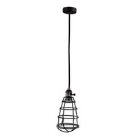 Wholesale Vintage Edison Retro Antique Home Ceiling Pendant Light Shade Chandelier Cage Lampshade Black Decoration