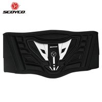 Wholesale SCOYCO Motocross Off Road MX Kidney Belt Moto Racing Protection Motorcycle Waist Support Touring Belt Sports Protector Guards