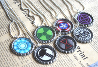 South American avengers bottle - 7pcs all avengers necklaces bottle caps necklace bottle caps jewelry gift
