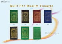 Wholesale Quilt For Muslim Funeral Kinds of Styles with Lace