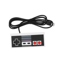 Wholesale 1pcs Classic Gaming Controller Joypad Gamepad For Nintendo NES for Windows PC for MAC Brand New