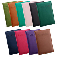 Wholesale Hot Sales Passport Wallets Card Holders Cover Case Protector PU Leather Travel Colors CM EG7