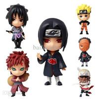 bee mario - SET Japanese Anime Naruto Cute PVC Action Figures Sasuke Naruto Itachi Killer Bee Gaara Tobi Model Toys Gift