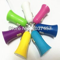 bargain iphone - 100pcs selling Little horn Car Charger USB Car Charger A Top Quality A bargain price Single