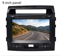 Wholesale 8 inch Special Car DVD Player For Toyota Land Cruiser with GPS IPOD Bluetooth High definition screen