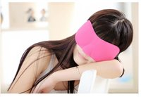 Wholesale 6 STYLES Trave Sleep mask Rest D Sponge EyeShade Sleeping Eye Mask Cover Patch Blinder for health care eye mask for sleeping