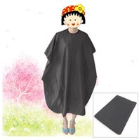 Wholesale 100pcs Adult Salon Hair Cut Hairdressing Barbers Hairdresser Cape Gown Waterproof Cloth DF01