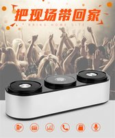Wholesale SDH Bluetooth Speaker Mini Touch Button Speaker Subwoofers Super Bass Speaker Built in MIC Support TF Card FM For Smart Phones