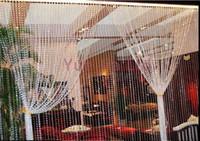 Wholesale Meters Garland Diamond Strand Acrylic Crystal Bead Curtain Wedding DIY Decoration Chandelier Hanging Wedding Decoration