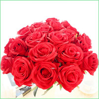 Cheap Wedding rose flower Best Floor Mounted Rose artificial flower