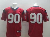 Cheap Cheap Houston #90 Jadeveon Clowney Jersey Authentic Elite American Football Jersey Embroidery Logo Mix Order size M-XXXL Free Shipping