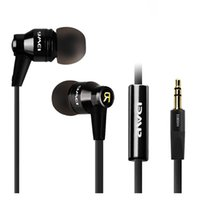 bag isolated - HOT Awei ES800M mm In ear Earphones Super Clear Bass Metal Headphone Noise Isolating Earbud For MP3 MP4 Cellphone with Bag