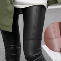 Cheap Womens Leggins 2014 Autumn Pants Women Fashion Casual Imitation Leather Leggings Cheap High Waist Leather Pants Leggings
