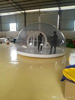 inflatable tent - Cool PVC inflatable tent Customized PVC transparent inflatable tent Tents and Shelters Camping or hiking tents