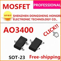 Wholesale AO3400 AO3400A N channel V A mR Original AOS high quality data inside we can offer free samples