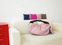 Wholesale Women Multifunctional Folding Backpack Outside Sport Gym Travel Storage Bag Single Shoulder Bag Messenger Bag
