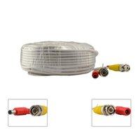 Wholesale 100ft m BNC Video Power Siamese Cable Cord for CCTV Surveillance Camera DVR