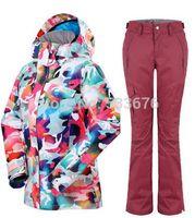 Wholesale New Brand Waterproof Windproof Ski Jacket For Women Winter Skiing Snowboard Suit Hiking Women Coat Winter Suit