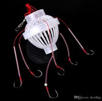 Wholesale New Arrival Fishing Tackle Sea Monster with Six Strong Spherical Fishing Hook Hooks