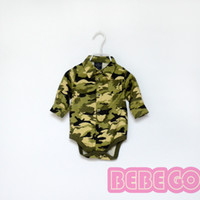bebe shipping - Bebe Top Quality cotton color camouflage comfortable romper for new born baby girl boy for Newborn Baby