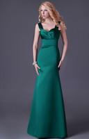 Cheap Grace Karin Stock Strapless Dark Green Long Party Dress Sheath Dubai Arabic Evening Dress Gown Prom Ball Dress 8 Size CL3463