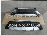 Wholesale 2010 Hyundai ix35 High quality plastic ABS Chrome Front Rear bumper cover trim LZR1