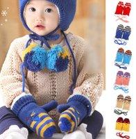 baby glove pattern - Boys Girls Small Cats Pattern Fingers Gloves Autumn Winter New Arrival Baby Boys Girls Gloves Children Plus Velvet Kids Gloves L0549