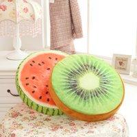 best fruit month - New Creative D Fruit Cushion D Watermelon Kiwi Orange Stuffed Foam Rubber Pillow Best Decoration