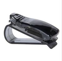 Wholesale Sunglass Visor Clip Sunglasses Eyeglass Holder Car Auto Reading Glasses Black