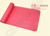 Wholesale 100PCS LJJH1239 Yoga Mat cm Thick Exercise Non slip Pad Gym Lose Weight Durable Fitness Thickening non slip mats