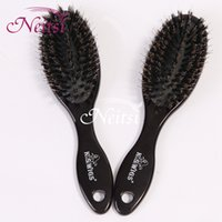 Bristle Brush hair salon tools - Neitsi pc cm g pc Bristle Brush Black Hair Combs For Hair Extensions Accessories Applicable Loop Brushes Salon Hair Care Tools Combs