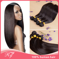 Mongolian Hair cheap brazilian hair - RYhair Cheap Brazilian Mongolian Straight Hair Bundles human hair weaves Cheap hair extensions fast shipping silky straight hair