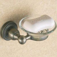 antique glass dishes - Fashion antique single disc soap dish rack glass soap dish soap box rack soap box order lt no track