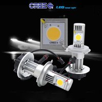Wholesale Car Headlights Superbright All in One LED Headlight Cree LM LED Car Headlight H4 H7 H8 H9 H10 H11 H16