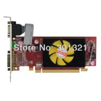 amd pci express video - AMD HD GB HM DDR2 HDMI VGA DVI Low Profile PCI Express Video Card drop Shipping with tracking number