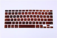 Wholesale New US Keyboard Cover Skin For Apple MacBook Air Pro Mac Retina quot quot quot Keyboard Protector