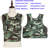 Wholesale kevlar police bulletproof Vest US NIJ IIIA mm crotch comprehensive protection body armour kugelsichere weste swat weste Colete Balíst bulle