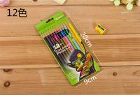 Wholesale 12 colors pencil pen For Decompression Artifact Secret Garden Coloring Books painting Drawing Book