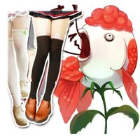 Cheap Wholesale-2015 Hot Sale Special Offer Freeshipping Character Adult Women Japan Anime Clothing Ghost Light Cold Butcher Cosplay Pantyhose