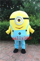 Cheap Mascot Costumes MINIONS Best Free Size Animal MASCOT COSTUME