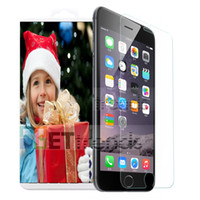 Wholesale For iPhone G S G S C G Plus Tempered Glass Screen Protector With Paper Retail Package MM D DHL WEL240011