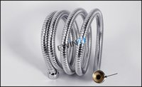flexible hose - New and high quality m Flexible Stainless Steel Chrome Standard Hose Shower Head Bathroom Hose