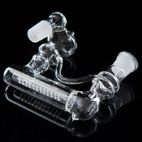 Wholesale Hot two size of MM MM Inline Glass Water Percolator Ash Catcher Smoking Pipe Bong Accessory Sizes Assorted