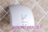 Wholesale And Retail Automatic Sensor Hand Dryer W AC220V HZ Temperature Air Wall Mounted Hand Dryer